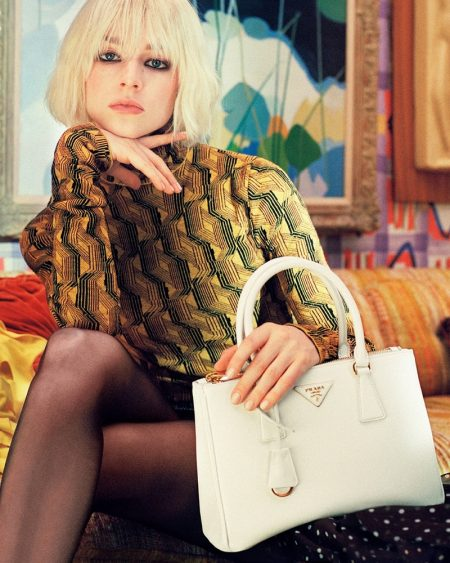 An image from Prada Galleria's advertising campaign.