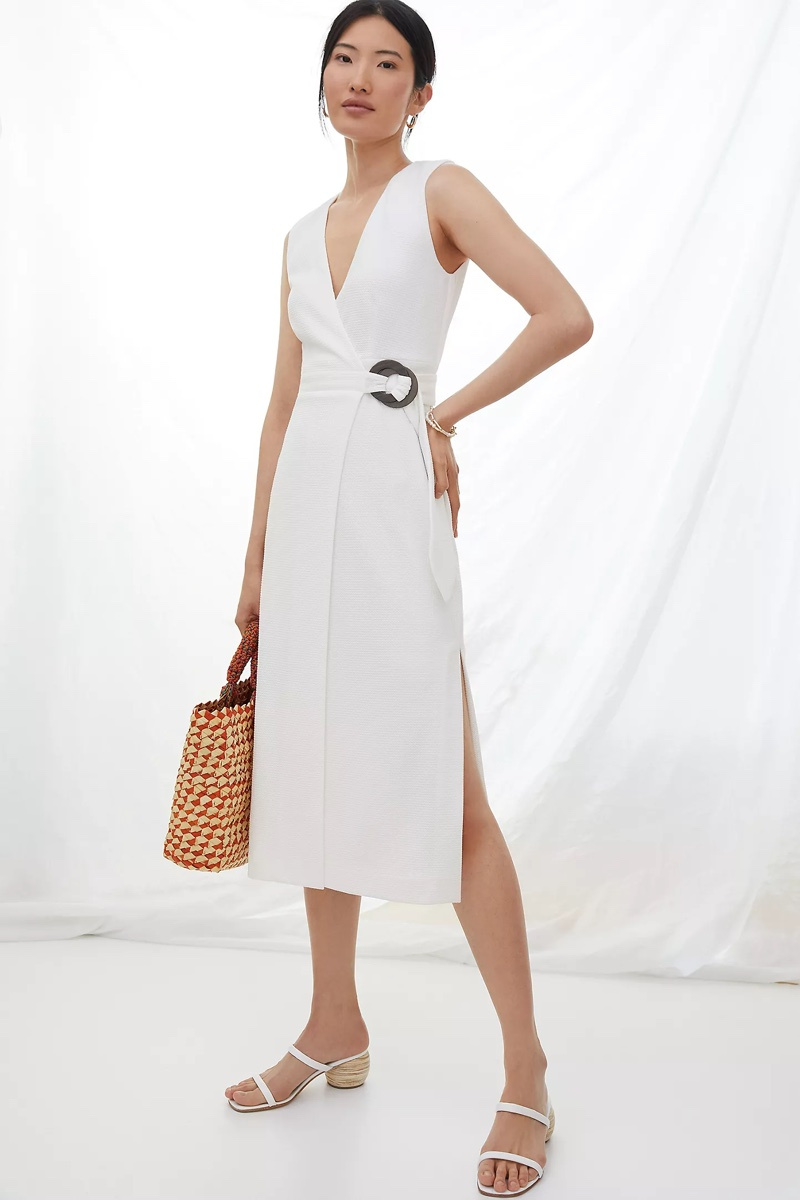 Hutch V-Neck Wrap Midi Dress $180