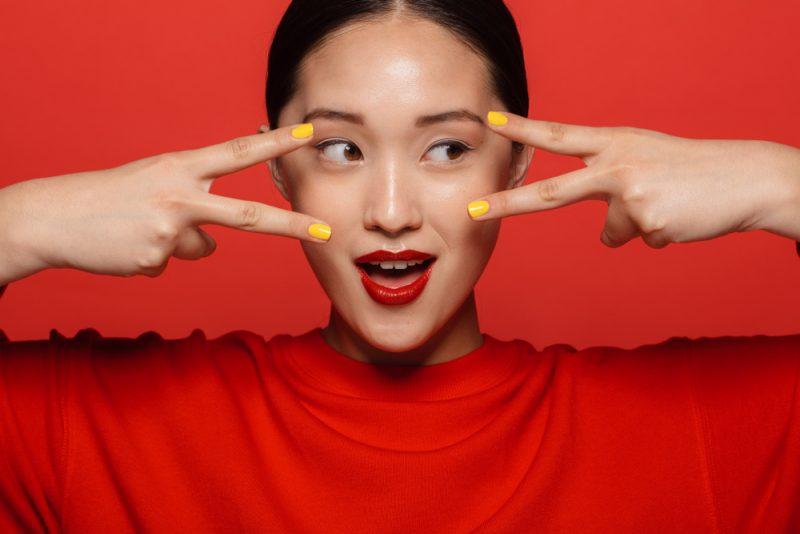 Korean Model Beauty Look