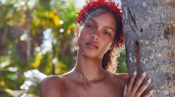 Lais Ribeiro Sizzles in Tropic of C Summer Swim Campaign