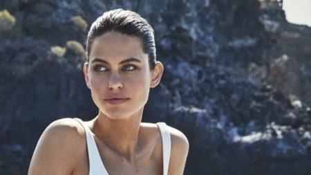 Lauren Auerbach Shows Off Summer Swimwear for ELLE Spain