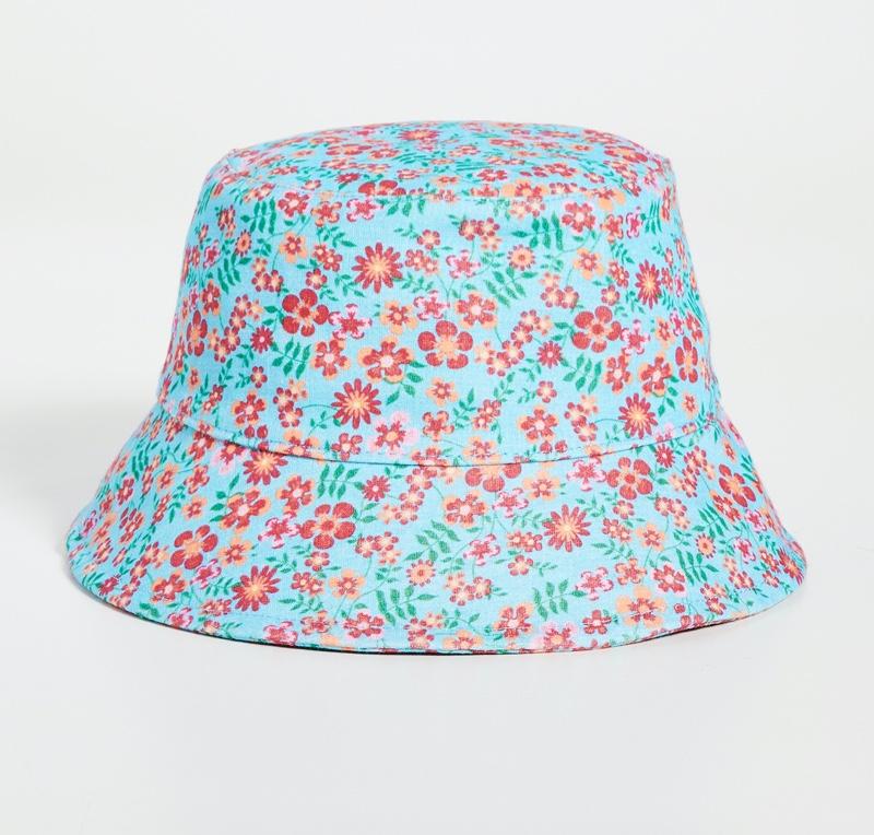 Lele Sadoughi Bucket Hat in Ditsy Floral $128