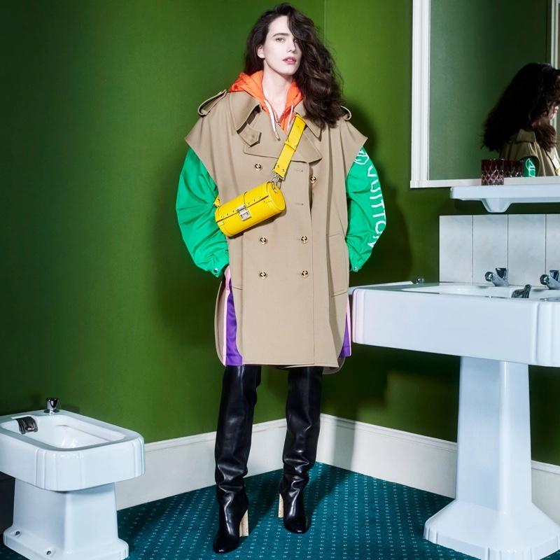 Louis Vuitton pre-fall 2021 campaign.
