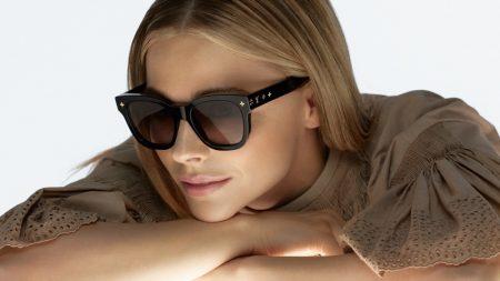 Chloe Grace Moretz fronts Louis Vuitton sunglasses 2021 campaign.