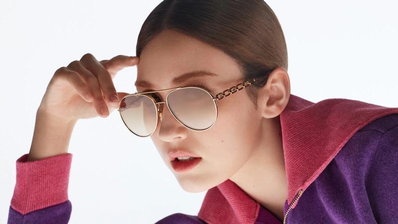 Louis Vuitton unveils 2021 sunglasses campaign.