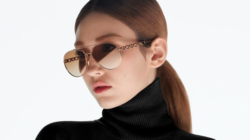 K-pop star Somi appears in Louis Vuitton sunglasses 2021 campaign.