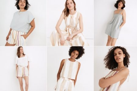 Madewell LAUDE the Label clothing collaboration