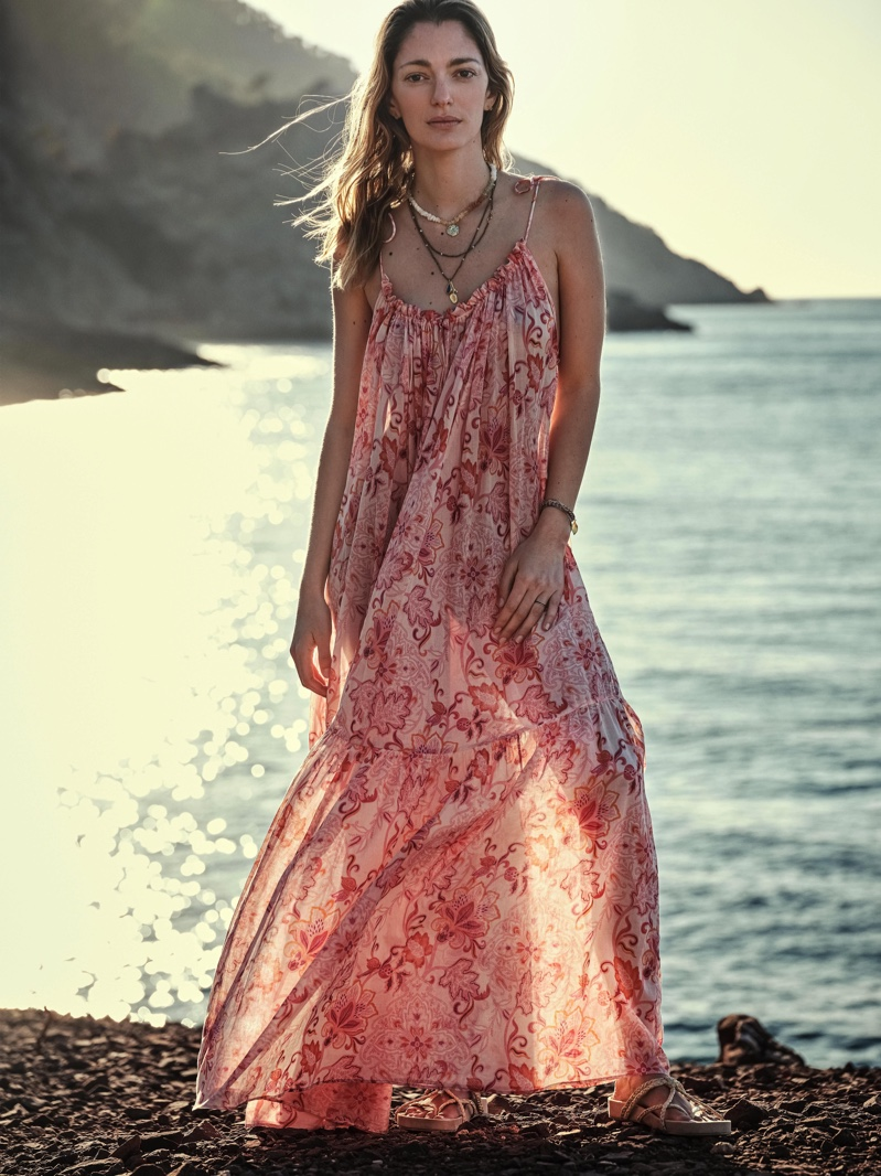 A dress from the Chufy x Mango collection.