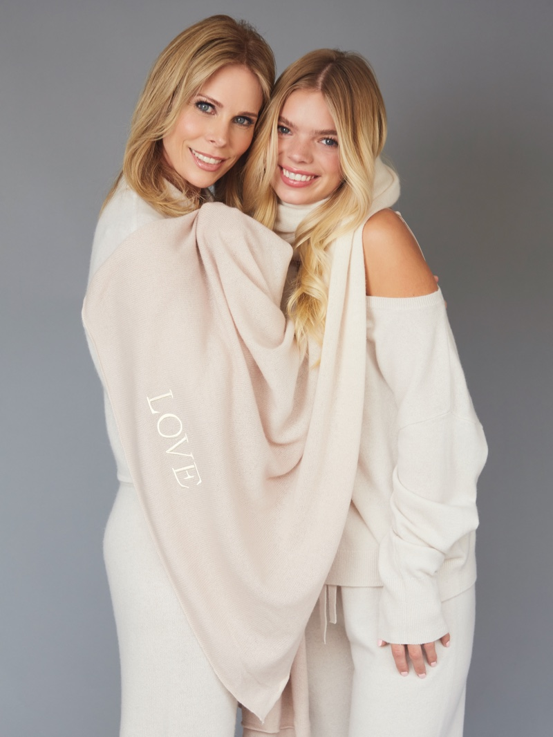 Cheryl Hines and daughter Catherine Young star in Naked Cashmere LOVE campaign.