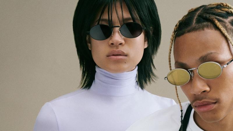 Off-White unveils summer 2021 eyewear campaign.