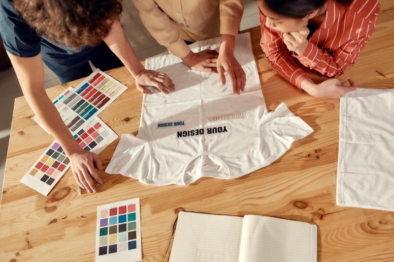 People Choosing Custom T-Shirt Design