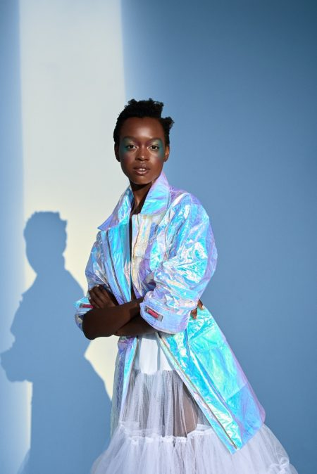 Silvia Morales Captivates in Vibrant Styles for ELLE Serbia