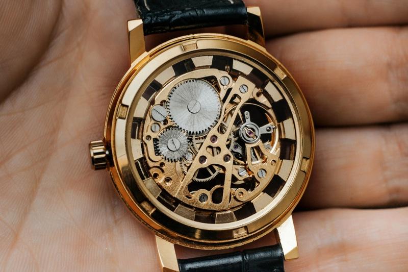 Skeleton Watch Closeup