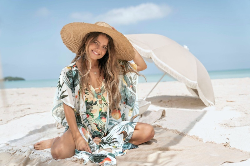 Swimsuit Coverup Beach Tropical