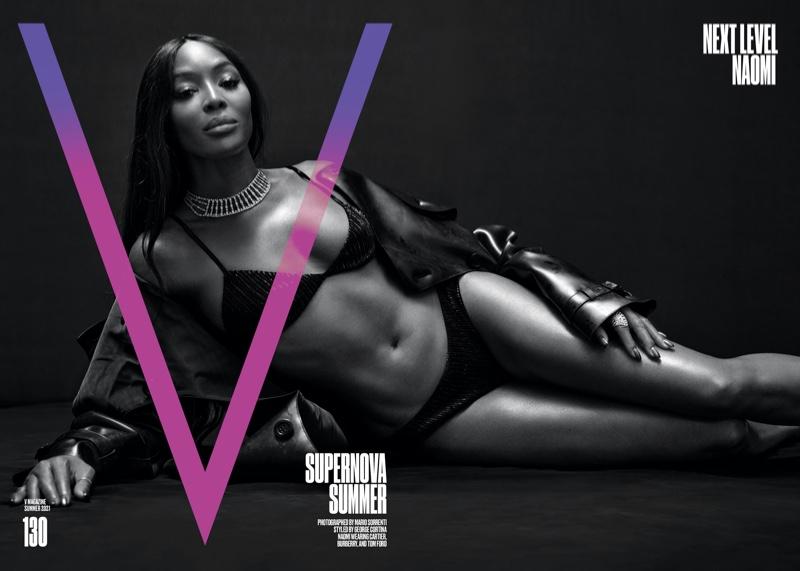 Naomi Campbell on V Magazine #130 Summer 2021 Cover.