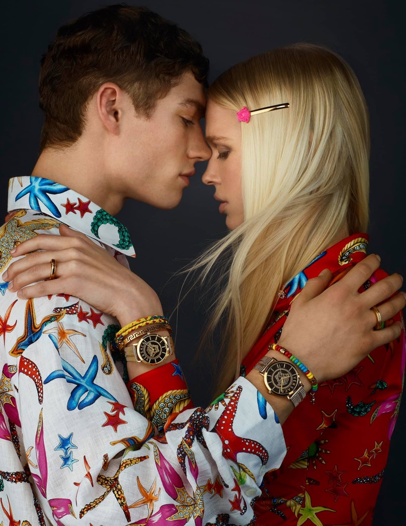 Versace Watches unveils spring-summer 2021 campaign.
