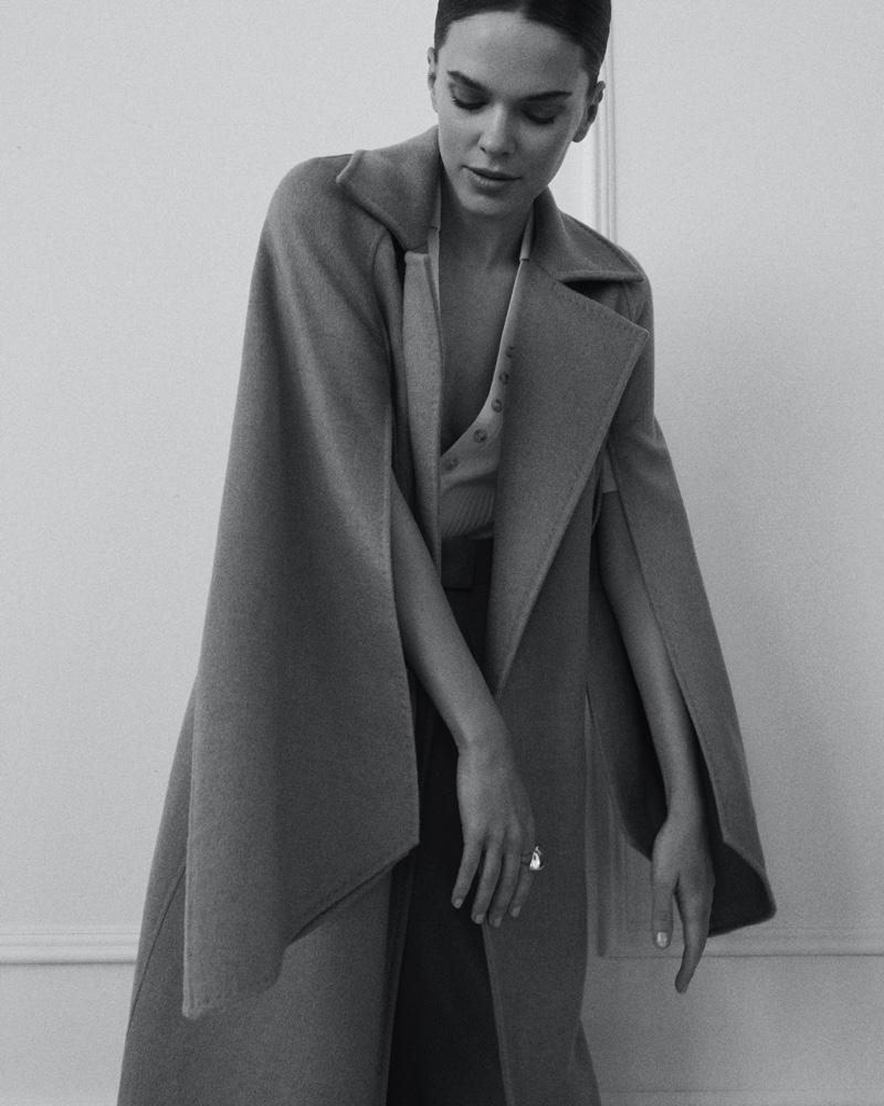 Viktoria Ortner Graces the Pages of Feminity Magazine