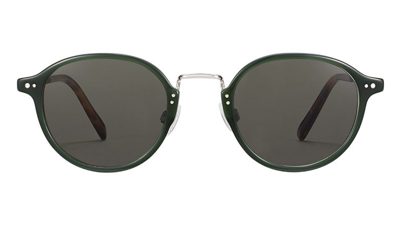 Warby Parker Thorpe Glasses in Poblano with Polished Silver $145