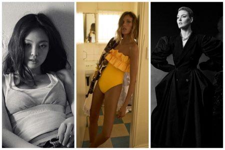 Week in Review   Martha Hunt's New Cover, Zara Swim, Jennie for Calvin Klein + More