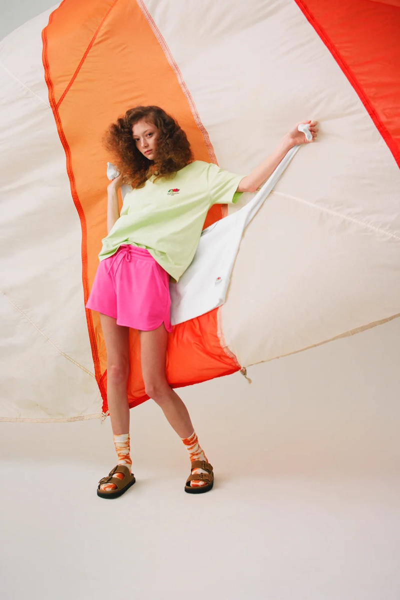 Zara unveils Fruit of the Loom collaboration.
