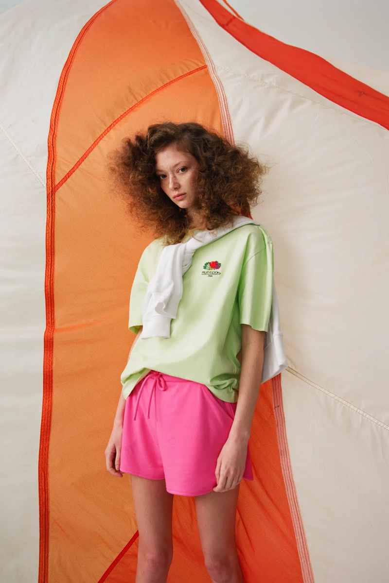 Designs from the Zara x Fruit of the Loom collaboration.