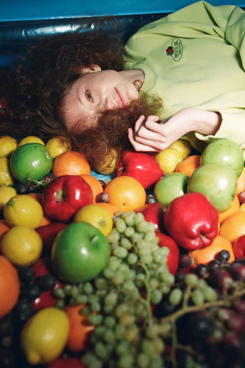 Going Fruity: Zara unveils Fruit of the Loom capsule collection.
