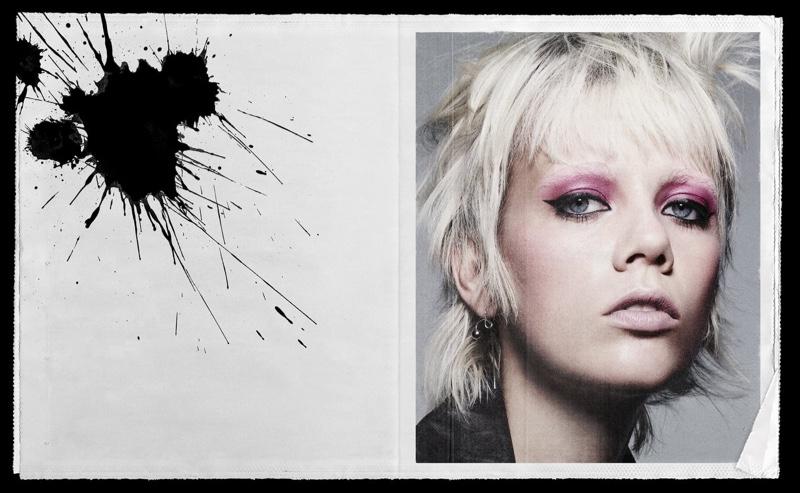 Marjan Jonkman stars in Zara Beauty On the Line campaign.