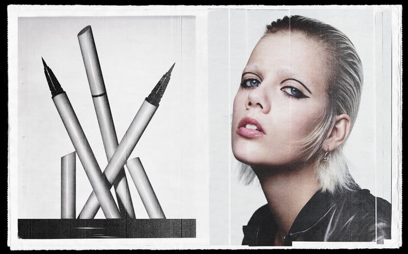 Zara Beauty On the Line campaign.