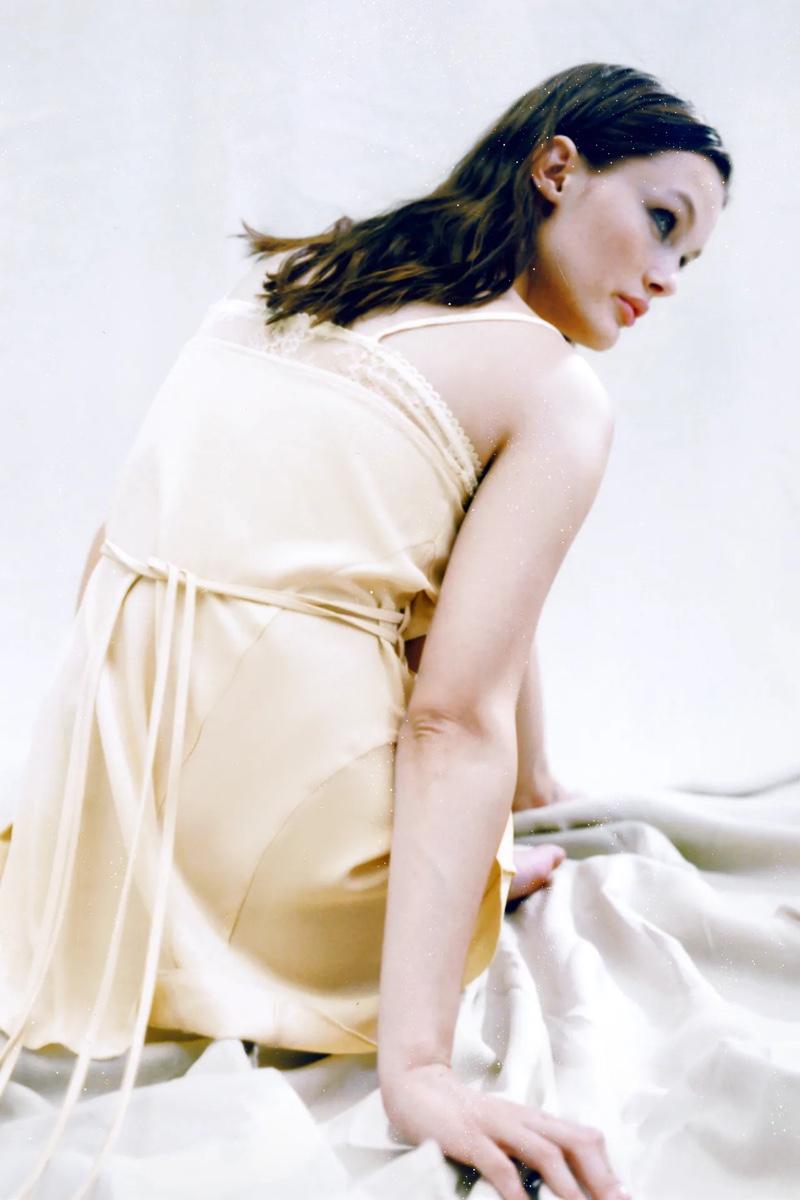 Zara Combination Slip Dress.