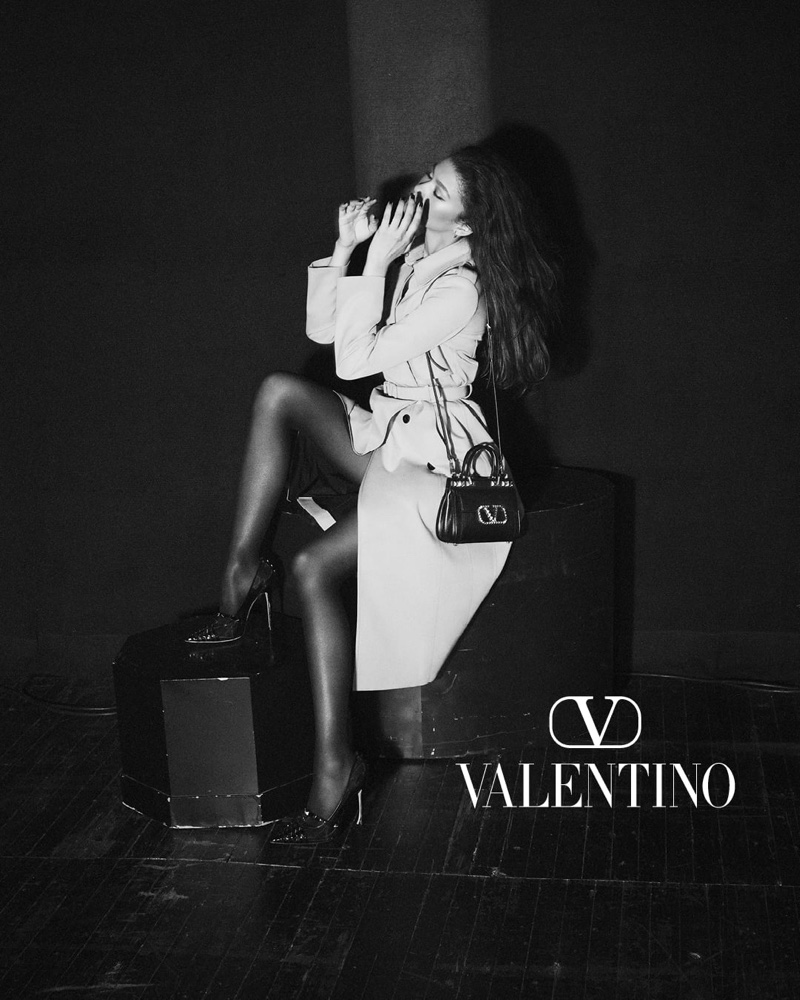 Valentino unveils stage-set Roman Palazzo campaign.