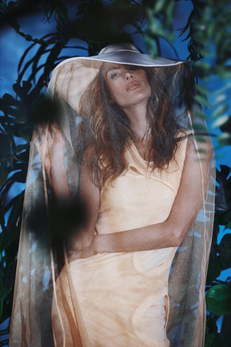Alessandra Ambrosio Models Luxe Summer Fashion for Numero Russia