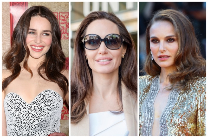 Famous Brown Haired Actresses