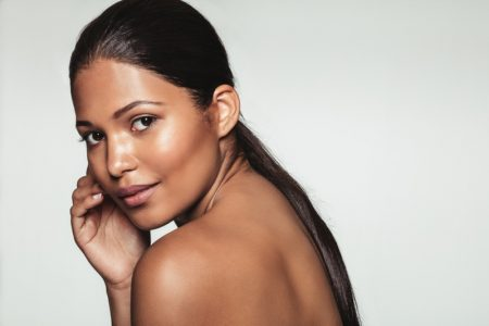 Brown Woman Beauty Clear Skin Healthy