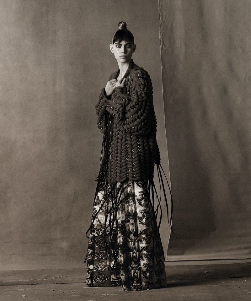 Julia, Lisa, Kristina, Meghan Wow in Spring Couture Designs for WSJ. Magazine