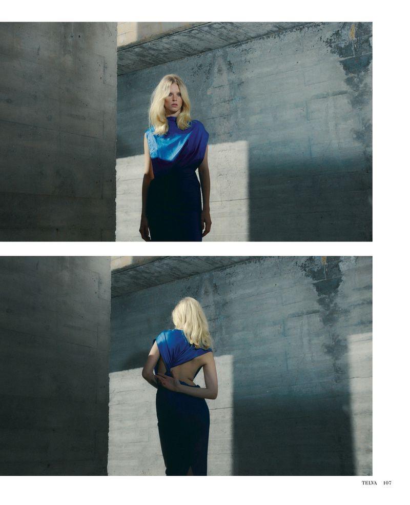 Dani Witt Embraces Elegant Styles for TELVA Magazine
