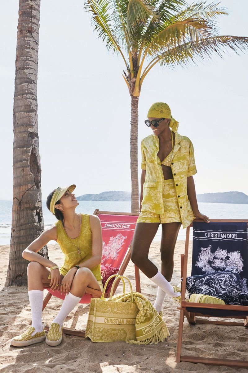 Dioriviera summer 2021 capsule collection from Dior.