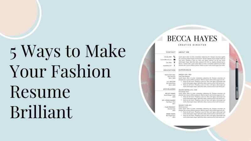 Fashion Resume