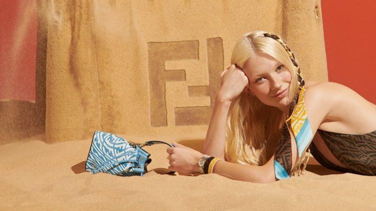 Fendi Summer Vertigo Beachwear 2021 Collection.