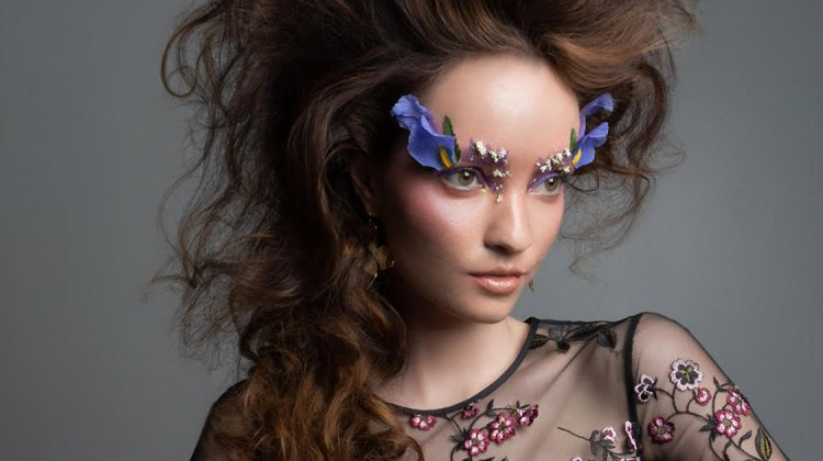 Exclusive: Elena Sartison by Jeff Tse in 'Flowers Bloom'