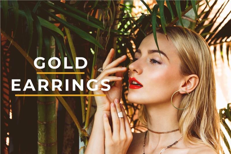 Gold Earrings Women