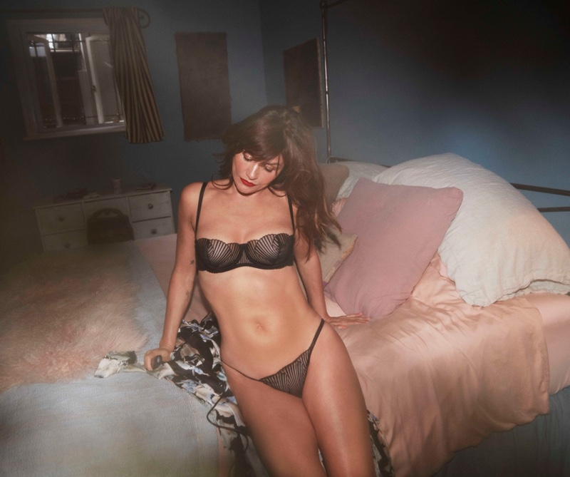Coco de Mer taps Helena Christensen to model its Icons lingerie collection.