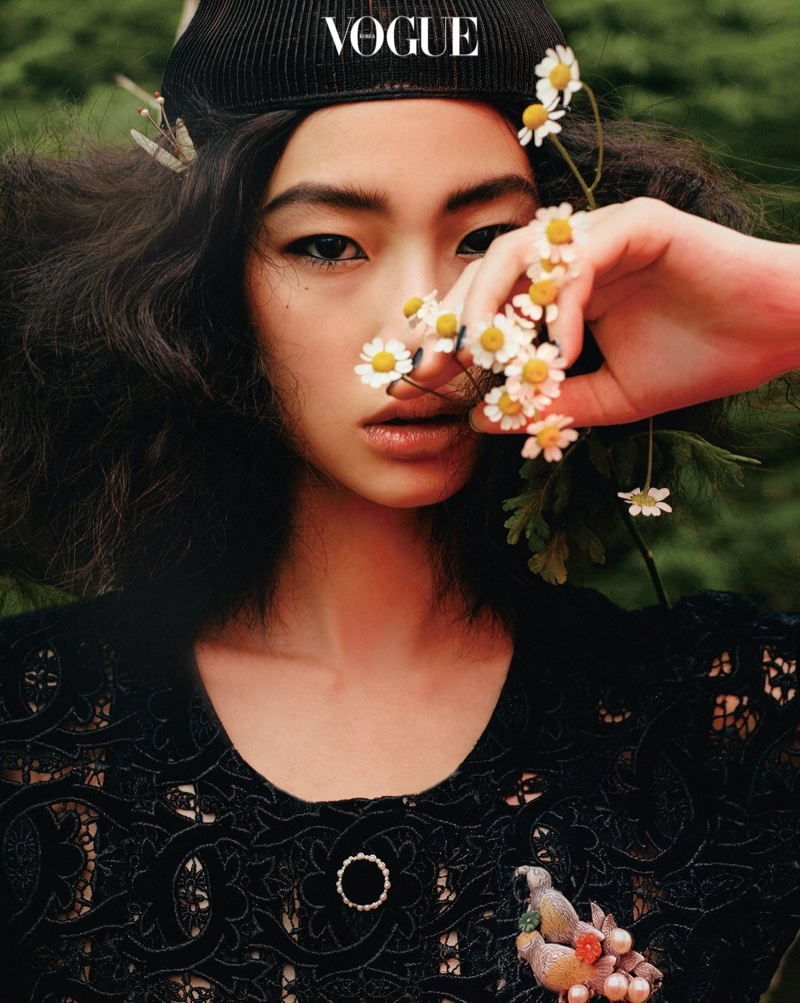 Hoyeon Jung Captivates in Chanel Fashions for Vogue Korea