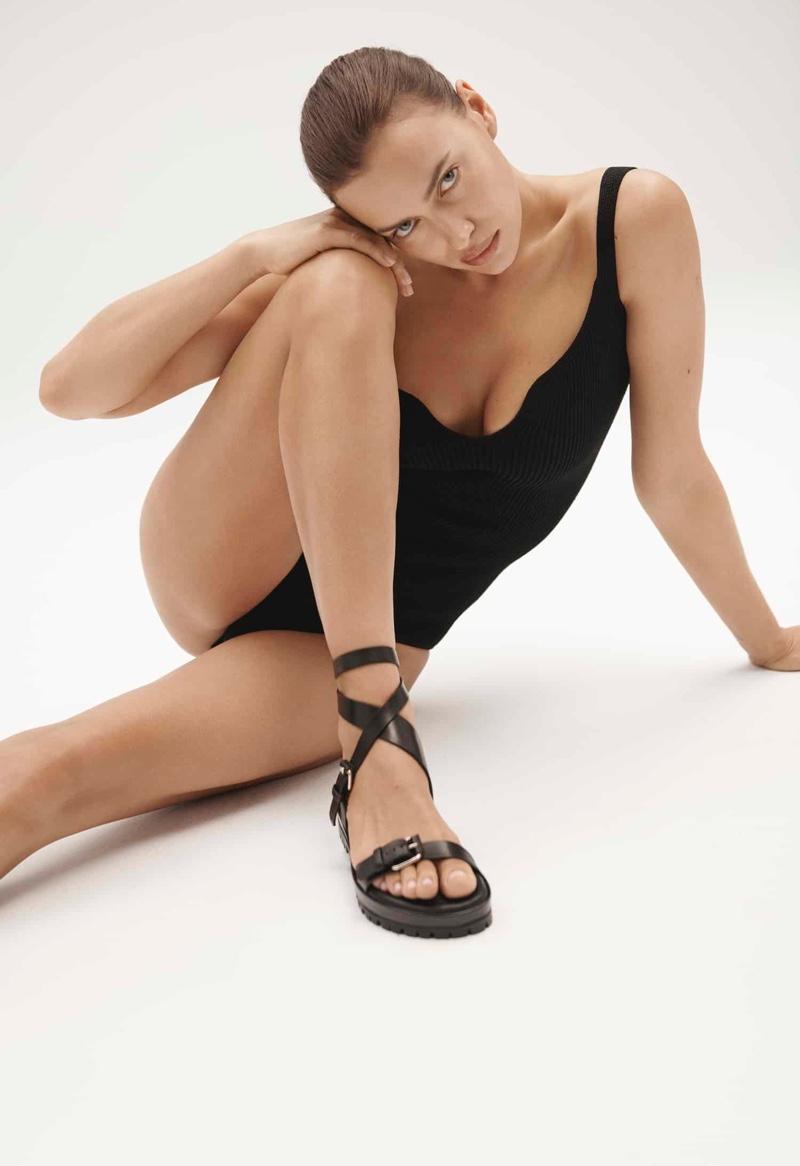 Irina Shayk collaborates with Tamara Mellon on shoe capsule collection.