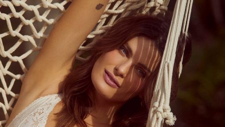 Isabeli Fontana Charms in Love Stories x Riachuelo Lingerie