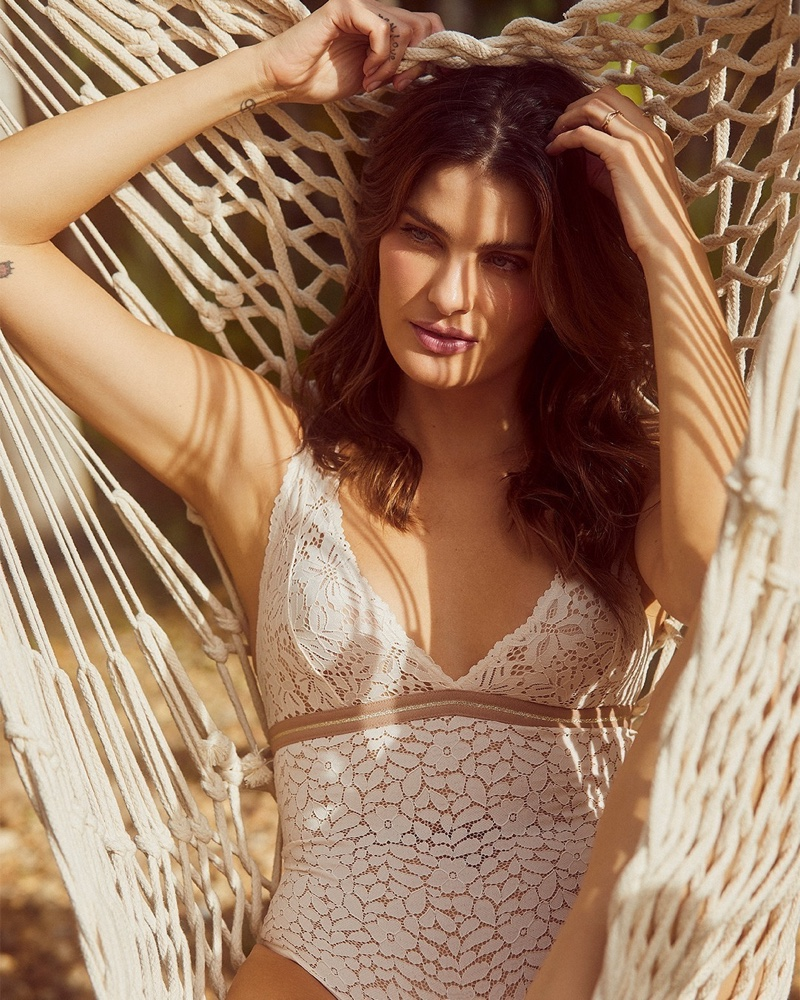 Isabeli Fontana stars in Love Stories x Riachuelo campaign.