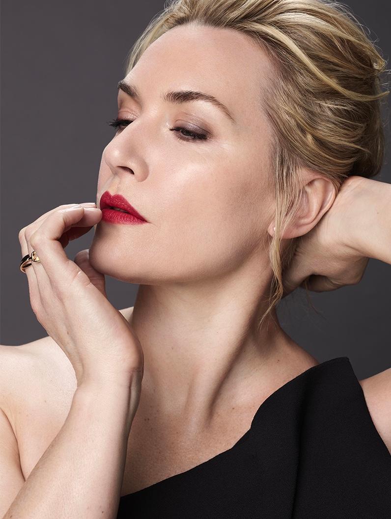 Kate Winslet announced as L'Oreal Paris ambassador.