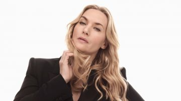 Actress Kate Winslet poses for L'Oreal Paris.