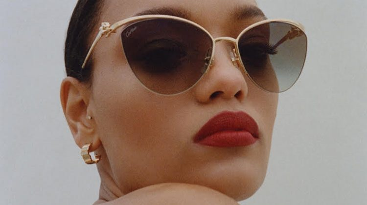 Lameka Fox Poses in Stylish Jewelry for South China Morning Post