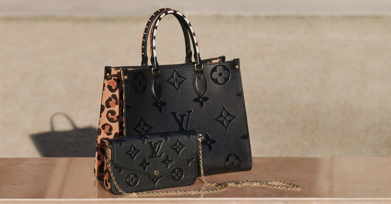 Leopard prints stand out for Louis Vuitton Wild at Heart collection.