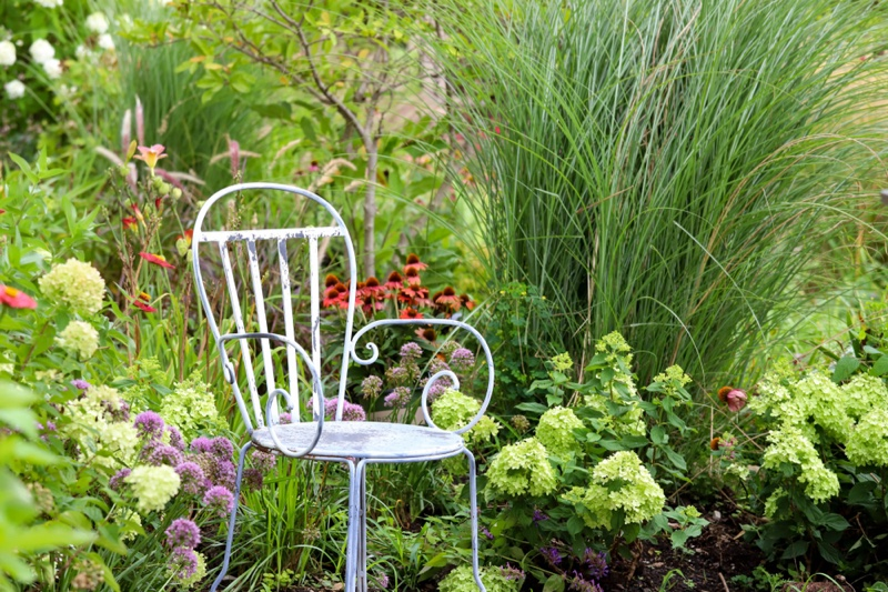 Ornamental Garden Chair Green Nature Lifestyle